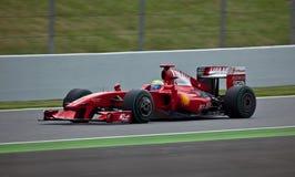Ferrari (1) formuła Zdjęcie Stock