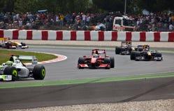 Ferrari (1) formuła Zdjęcia Stock