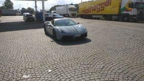 Ferrari 458 royalty-vrije stock fotografie