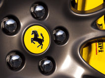 Ferrari Royalty Free Stock Photo