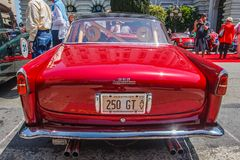Ferrari 1956 250 GT Boano Foto de Stock Royalty Free