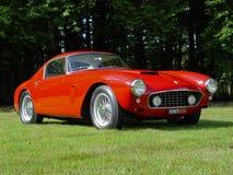 Ferrari 250 GT SWB al sole fotografia stock libera da diritti