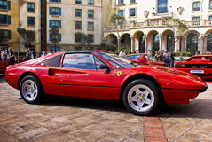 Ferrari 308 GTSi Photo stock