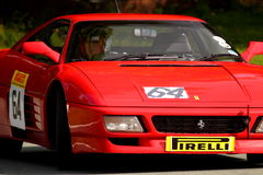 Ferrari 348 TS at hill climb event Stock Images