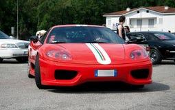 Ferrari 360摩德纳挑战 库存图片