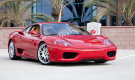 Ferrari 360 Modène Photographie stock