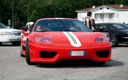 Ferrari 360 modena challenge Stock Images