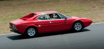 Ferrari 365 2+2, 1972 Royalty-vrije Stock Afbeeldingen