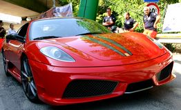 Ferrari 430 Scuderia Imagem de Stock Royalty Free
