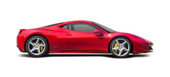 Free Ferrari 458 Royalty Free Stock Photo - 58738635