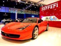 Ferrari 458 Italia Foto de archivo libre de regalías