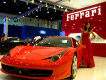 Ferrari 458 Italia Stock Photo