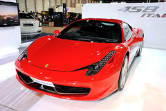 The Ferrari 458 Italia Royalty Free Stock Photography