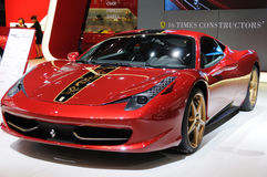 Ferrari 458 italia chinese dragon edition Royalty Free Stock Image