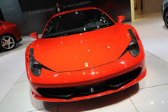 Ferrari 458 Italia front Royalty Free Stock Photography
