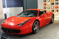 Ferrari 458 Italie Photo stock