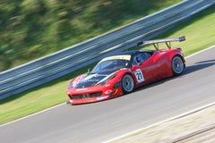 Ferrari 458 Italie GT3 Photo libre de droits