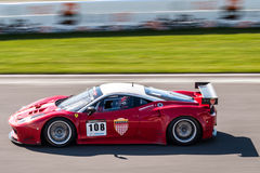 Ferrari 458 race car Stock Photography