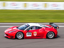 Ferrari 458 race car Stock Image