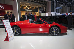 Ferrari 458 Spider Royalty Free Stock Photography