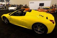 Ferrari 458 Spider Stock Photos
