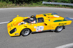 Ferrari 512 m -Vernasca Silver Flag 2011 Royalty Free Stock Photos