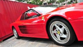 Ferrari 512 no indicador Fotografia de Stock
