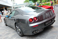 Ferrari 599 GTB on display Stock Images
