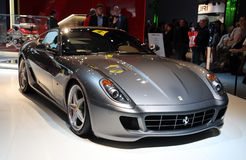 Ferrari 599 GTB Fiorano at Paris Motor Show Stock Photo