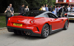 A Ferrari 599 GTO at Chelsea AutoLegends Royalty Free Stock Photo