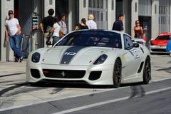 Ferrari 599XX in pozzo Fotografia Stock