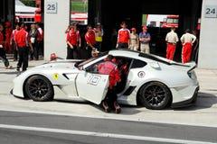 Ferrari 599XX in pozzo Immagine Stock Libera da Diritti