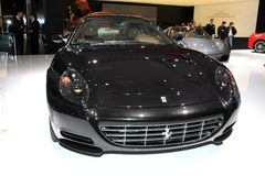 The Ferrari 612 Scaglietti Royalty Free Stock Photos