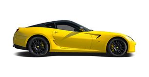 Ferrari 599 imagen de archivo libre de regalías
