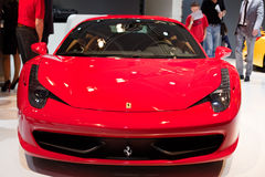 Ferrari on 63rd IAA Royalty Free Stock Images