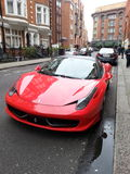 Ferrari 458 Photos stock
