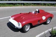 Ferrari 857 S -Vernasca Silver Flag 2011 Stock Photography