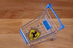 Ferrari photographie stock libre de droits