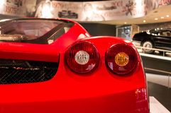 Ferrari in Abu Dhabi royalty free stock image