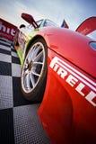 Ferrari ai Di Monza di Autodromo Fotografia Stock Libera da Diritti