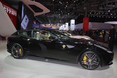 Ferrari al salone dell'automobile di Parigi 2014 Immagine Stock Libera da Diritti