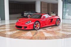 Ferrari-Ausstellung Hall Stockbild