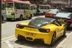 Ferrari-auto Royalty-vrije Stock Foto