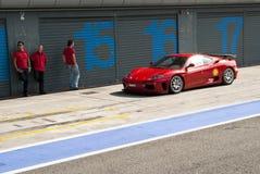 Ferrari at Autodromo di Monza Stock Images