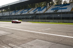 Ferrari at Autodromo di Monza Stock Photography