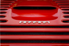 Ferrari Badge Stock Photos