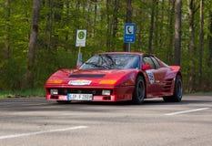 1977 Ferrari 512 BB στο ADAC Wurttemberg ιστορικό Rallye 2013 Στοκ Φωτογραφίες