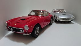 Ferrari 250 Berlinetta SWB and Ferrari 250 Lusso Royalty Free Stock Photography