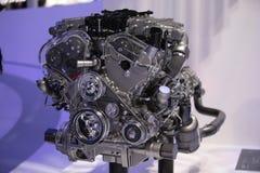 Ferrari bieg super silnik Obrazy Royalty Free