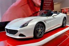 Ferrari bij 2014 Genève Motorshow Stock Foto